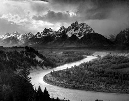 Ansel Adams Snake River Overlook